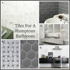Beautiful hampton style kitchen designs ideas Coastal Perini Tiles Hampton Style Bathroom
