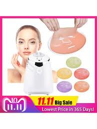face mask maker machine treatment diy automatic fruit natural vegetable collagen home use beauty salon