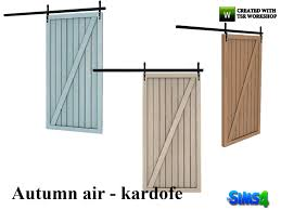 kardofe autumn air barn door