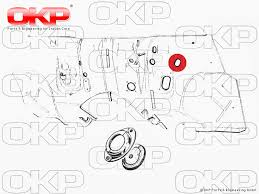 okp parts and engineering gmbh rubber grommet wiring harness 105 115