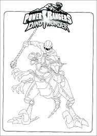 Mighty Morphin Power Rangers Coloring Pages Blue Power Ranger