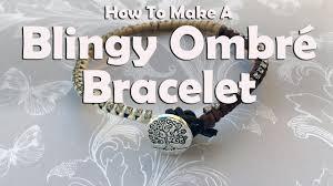 Blingy Ombré <b>Bracelet</b>: <b>Jewelry</b> Making Tutorial - YouTube