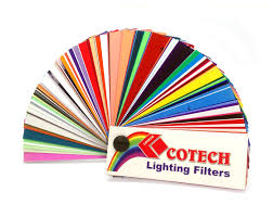 cotech usa llc swatch book of all available color gels color gels gel frames accessories stage lighting alpha sound lighting co