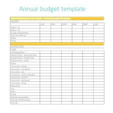 Monthly And Yearly Budget Template Small Business Budget Template Free Small Business Monthly