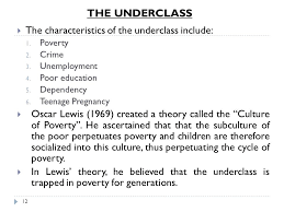 social stratification inequality ppt video online  12 the underclass