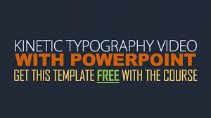 typography templates powerpoint kinetic typography template free kinetic typography