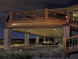 deck lighting ideas. deck stair lighting ideas