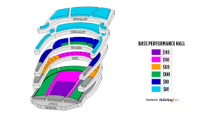 Fort Worth Bass Performance Hall Seating Chart English