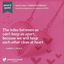 rhyming friendship poem forever friends