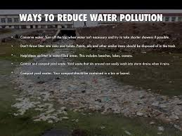 ways to prevent water pollution essay term paper haikudeck com
