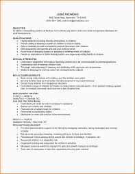 Formidable Nanny Resume Template Examples About Babysitter Resume