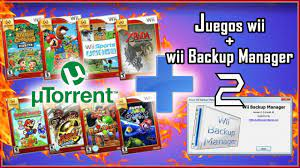 This page is where you can download wii games. Como Descargar Juegos De Wii Gratis Wii Backup Manager Utorrent Youtube