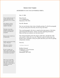 U Business Formal Cover Letter Examples Formal Business Email