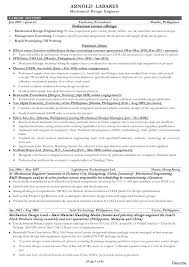 Sample Resume Mechanical Engineer What Is A Mechanical Engineer Resume Best Engineering Resume 84
