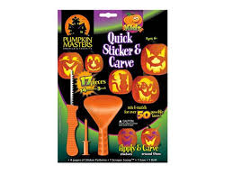 pumpkin carving tools for kids. this kids pumpkin decorating kit is geared towards ages 6 and up, includes a couple of basic carving tools, in addition to providing some simple tools for