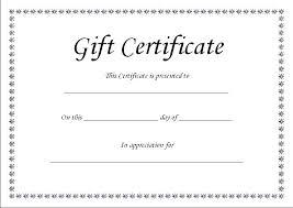 Word Gift Certificate Template Velorunfestival Com