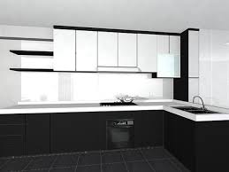 brilliant design black and white kitchen cabinets title bbcoms house