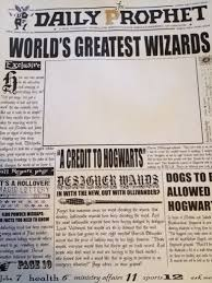 Harry Potter Newspaper Template Makin Stuff A Harry Potter Moving Picture Frame Mellzah