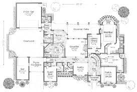traditional house plan first floor 036d 0106 house planore