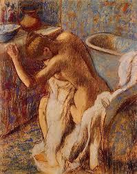 woman drying herself edgar degas art women s beauty and edgar degas