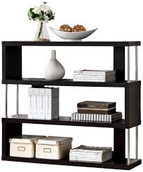 modern furniture shelves. Amazon.com: Baxton Studio Barnes 3-Shelf Modern Bookcase, Dark Brown: Kitchen \u0026 Dining Furniture Shelves