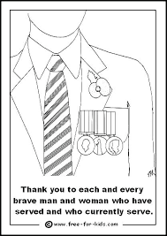Thank You Coloring Pages For Soldiers Thank You Troops Coloring