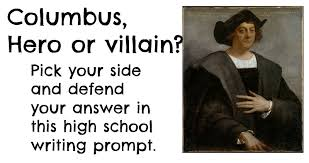 christopher columbus high school writing assignment