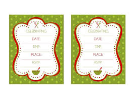 free christmas dinner invitations free holiday baking party printables from printabelle catch my party