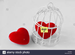 Free Heart And Heart In A Bird Cage With The Word Ego Written On