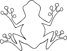 Small Picture The 25 best Frog template ideas on Pinterest Frog coloring