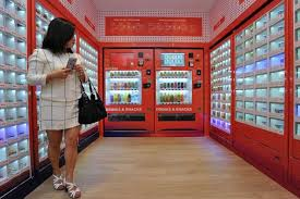 Jr Food Vending Machine Fascinating First Vending Machine Cafe Launched At Sengkang HDB Estate