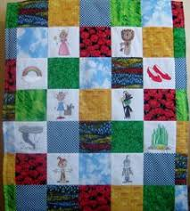 Emerald City quilt | Quilting Patterns | Pinterest | Emerald city ... & Wizard of Oz embroidered baby quilt by PixieRiver on Etsy Adamdwight.com