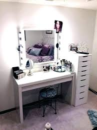White Makeup Vanity Set Bedroom Vanity – greenbonus.club