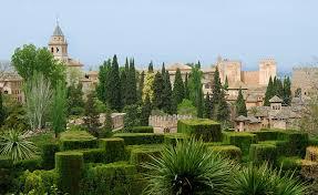 Сады Гранады Альгамбра и Генералиф alhambra generalife  Сады Гранады Альгамбра и Генералиф