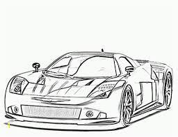 Sport Car Coloring Pages Printable Zabelyesayancom