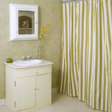 Summer Palm Stripe Shower Curtain Hayneedle Gold And White Striped Shower Curtain