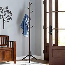 Traditional Dark Walnut Finish Wood Coat Rack Unique Amazon Traditional Spinning Top Wooden Coat Rack Walnut Home