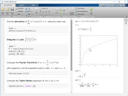learn calculus in the live editor compute derivatives integrals and fourier transforms symbolically