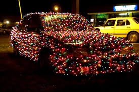 christmas lights pictures | Christmas lights on a used car ...
