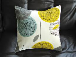 Teal And Yellow Bedroom Yellow And Teal Pillow The New Trend Interior Designing Ideas
