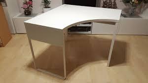 ikea micke corner desk white free leather desk protector