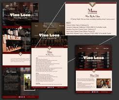 Flagstaff Website Design Vino Loco Website Design On Behance