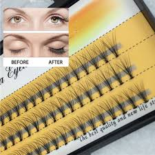 Best Light For Eyelash Extensions Us 1 35 31 Off 1set 6 8 9 10 11 12 14mm 3d Individual Fake Lashes Strip Eyelashes Extension Tape Wimper Permanent Soft Light False Eyelash In False