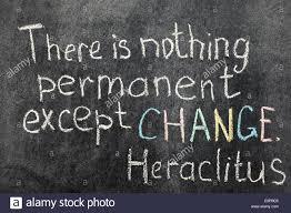 Heraclitus Quotes Extraordinary Permanent Change Stock Photos Permanent Change Stock Images Alamy