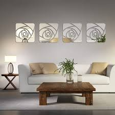 2016 hot sale Acrylic 3d wall stickers home decor mirror wall stickers room  decoration pegatinas de