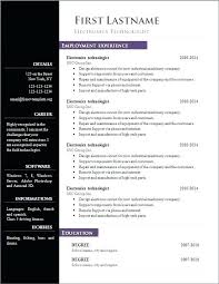 Resume Templates Open Office Best Free Resume Template Download Open Office Free Resume Templates Open
