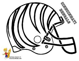 Nfl Helmet Coloring Pages Color Bros