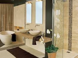 Blue And Beige Bathroom Ideas Square Shape Small Pool Standing - Beige bathroom designs