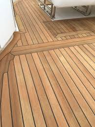 new teak decking cockpit on fountain go fast boat bad ass boats in flooring vinyl plank