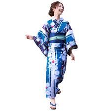 Amazon 浴衣 レディース セット 青緑と紺の染め分けに青朝顔 ときめき